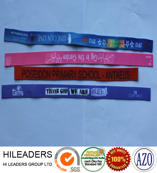 RT702 Wristband Colourful Woven Disposable Bracelet