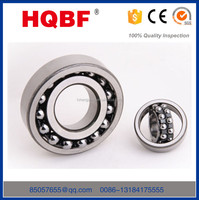 2016 HQBF hot sale low noise ball bearing double row self-aligning ball bearing 2220
