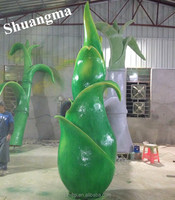 high quality Fiberglass plant model for park