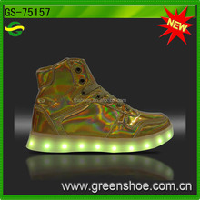 New arrival led light up shoes adult