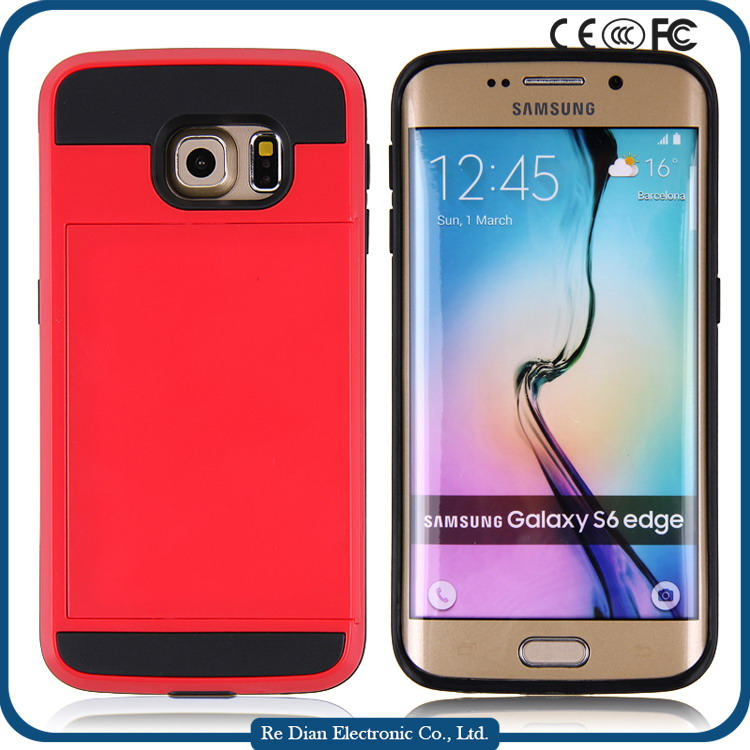 Shenzhen mobile accessories phone case wholesale for Samsung S6edge