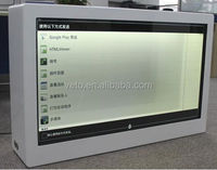Best price transparent lcd screen display for advertising product show 42 inch