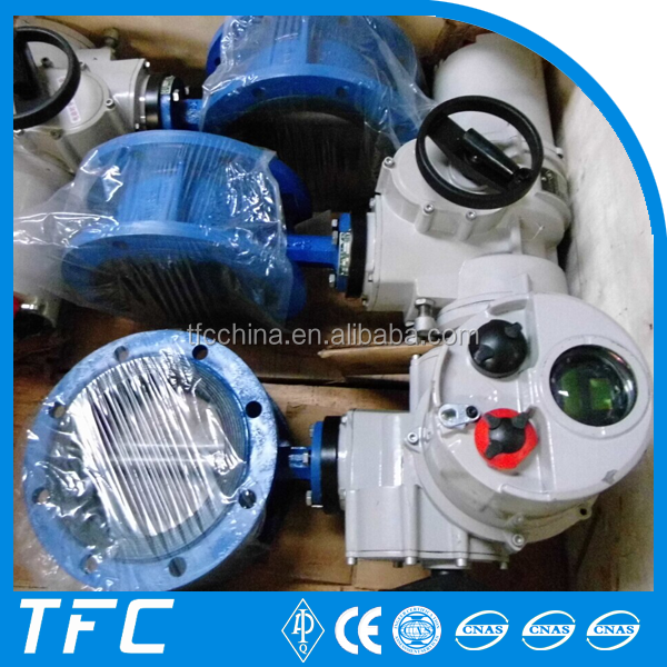 electric motorized butterfly valve, motorized valve actuator width low pressure steam service