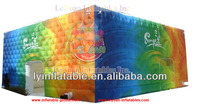 Printed inflatable cube tents for event inflatable event tent for sale en14960