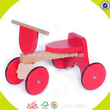 wholesale kids wooden ride on car fashion baby wooden ride on car hottest children wooden ride on car W16A010