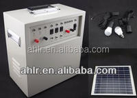 50w solar charge systems for DC bulb and mobile charging for african