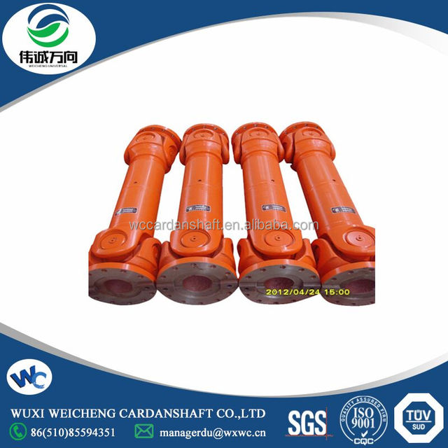 Widely used driving shaft for rubber and plastic cement of three roller calender