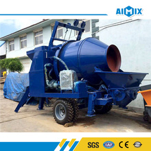 Construction machine 40m3/h small concrete mixer with pump price