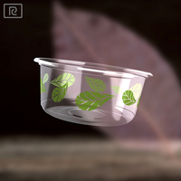 R-PLA-360 ml 12 oz disposable plastic container food for salad fruit vegetable
