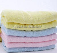 China suppliers solid stock children of bamboo fiber face towel