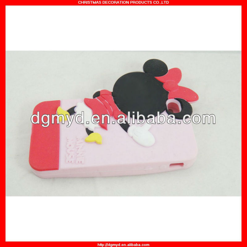 Eco-friendly and fashionable animal shaped phone cases silicone