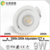 360 angle tiltable gyro dimmable 2000k to 2800k dim to warm cob led downlight 83mm cutout