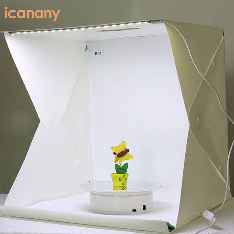 Studio Light Box Photography Foldable Portable Photo Studio 4 Colors Background Shooting Tent Box Kit