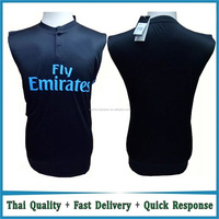 2016/2017 Wholesale football training vest, customized soccer training vest for men, custom logo printed football training vest