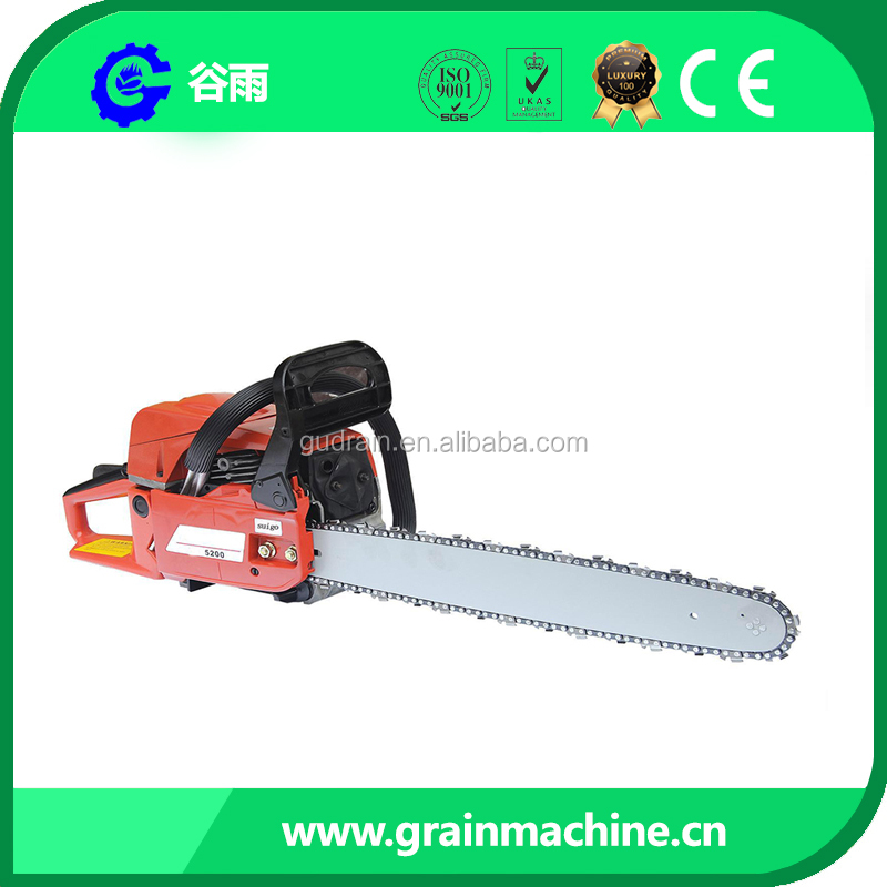 High Quality Gasoline Chainsaw Model YD52 Displacment 52cc