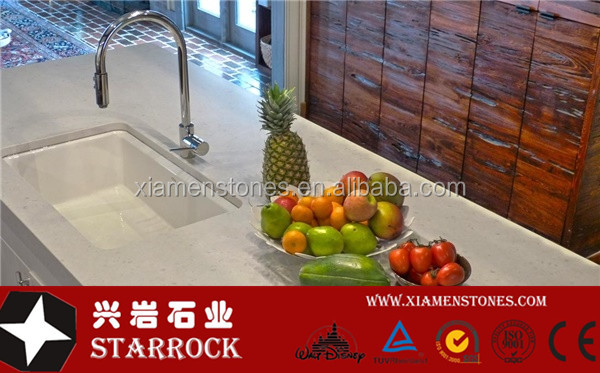 High Quality Artificial Carrara White Quartz stone Price