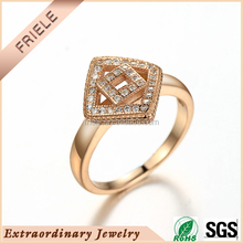 Wholesale New model ring Rose Gold plating 925 Sterling Silver Jewelry