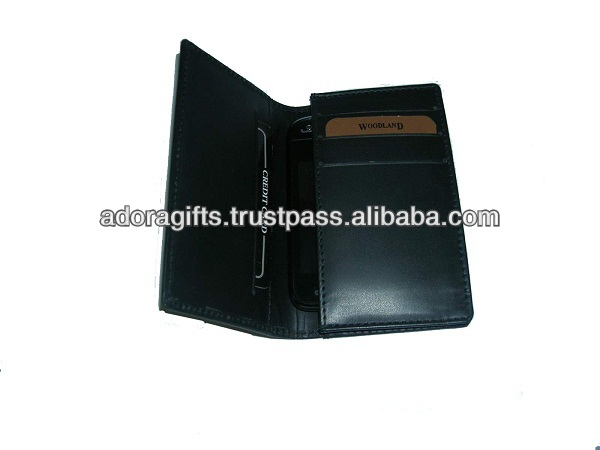 ADALMC - 0018 new phone mobile covers / nice pu leather cell phone pouch / promotional leather mobile pouches