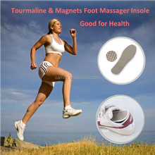 Tourmaline self heating Foot massage pad/insole for safety shoes