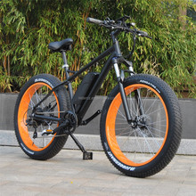 26inch 48V 500W Fat tire motiv mountain electric bike/ electric bicycle RSEB-508