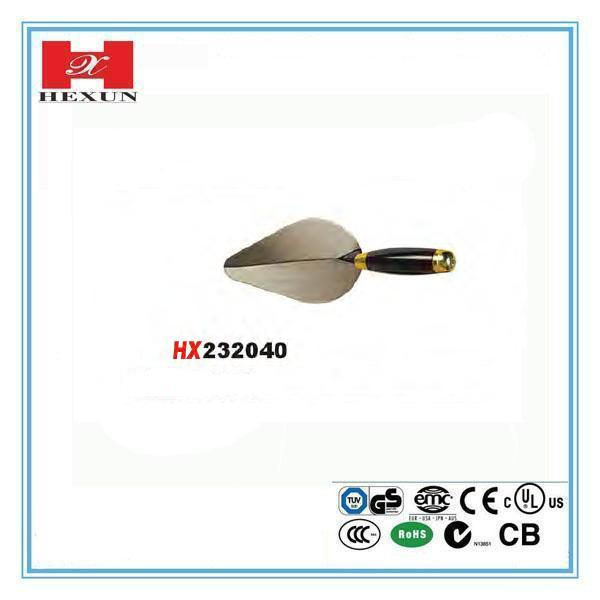 Heavy duty different sizes bricklaying trowel for sale