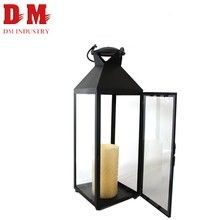 Home decoration Candle Holder Top Quality portable metal hanging lantern stand