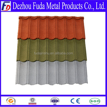 Stone Coated Metal Corrugated Roof Tile