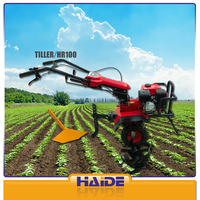 farming hoe machine HR100 6.5HP cultivator the green machine