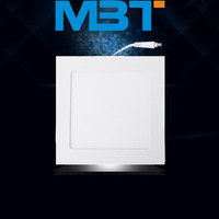 New Square LED Panel Light Price 145*145 Wholesale China, 18w Ultra Thin IP54 Led Light Panel, SMD2835 Led Panel Light mbt