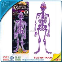 Plastic Skeleton Toy For Kids Halloween Skeleton With Light