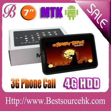 MTK release tablet computer MTK6575 7.0 tablet PC with GPS 3G Dual cameras Google Android 4.0 512MB 4GB capacitive