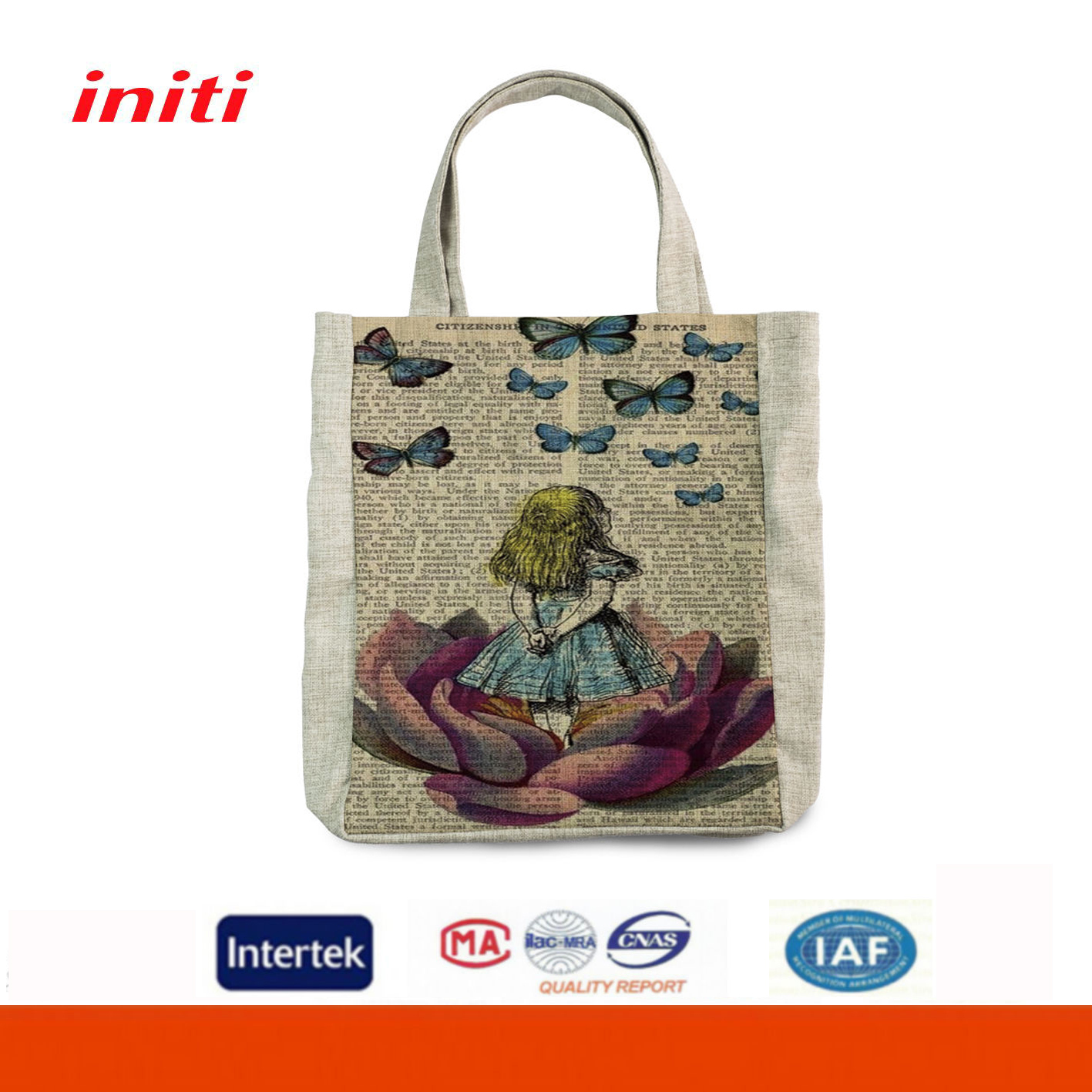 Initi nepal cotton bags wholesale for packaging