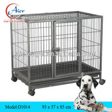 folding square tube dog cage