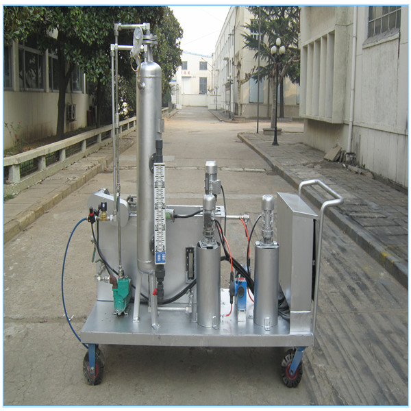 Movable mini DAF Dissolved air flotation units for laboratory sewage treatment