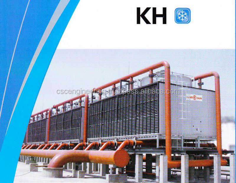 KH 400 (200rt x 2 cell) Crossflow Square Type Cooling Tower