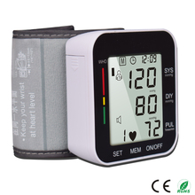 Hotselling promotion price wrist blood pressure meter 6.9$