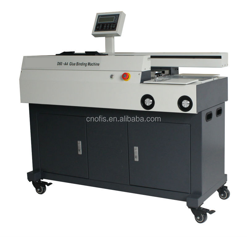 NEW!! OFIS 60D a4 hot glue perfect book binder