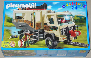 playmobil 4839 adventure truck neu misb neuf buy playmobil 4839 product on. Black Bedroom Furniture Sets. Home Design Ideas
