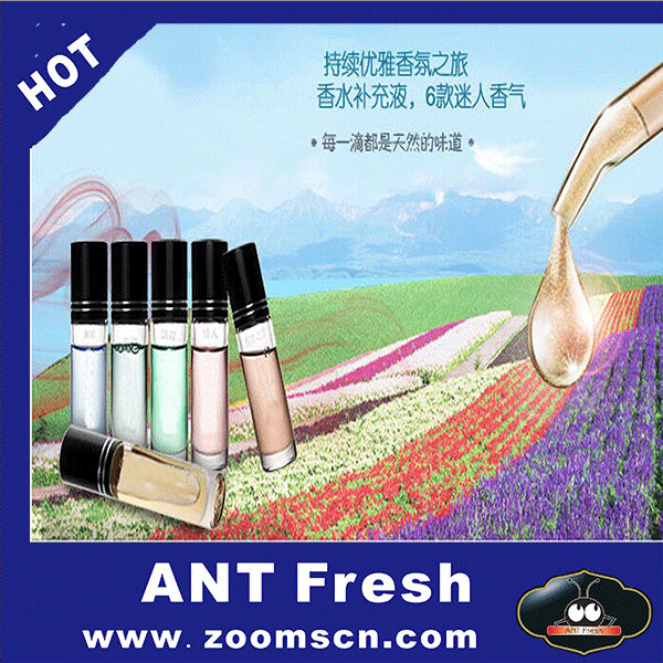 Scent Liquid Perfume Car Air Freshener added liquid, there are six kinds of taste