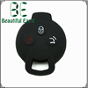 High quality eco-friendly key head cover silicone key cover for benz