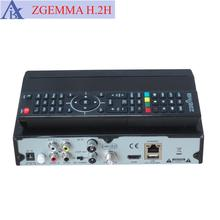 100% Authentic ZGEMMA H.2H FTA Digital TV Satellite Receiver Full HD 1080P Dual Core Linux OS E2 DVB-S2+T2/C Twin Tuners