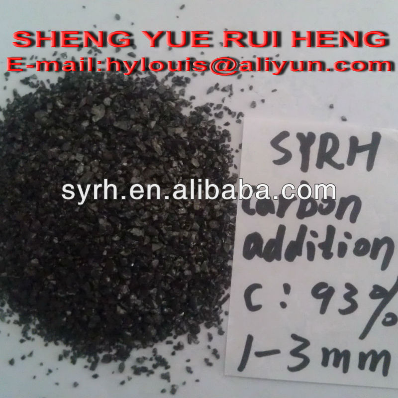 Carbon Additives / Smelting carbon / smelting additives F.C 93% 1-3MM