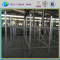 Factory supply directly Q235/Q345 H.D.Galvanzied baker scaffolding with scaffolding components made by scaffolding manufacturer