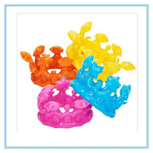 Inflatable crown, colorful pvc inflatble crown for promotion