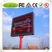 digital screen/led tv/video wall high definition p4 p10 rgb outdoor advertising led display screen