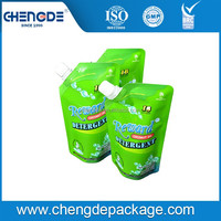 Durable OEM customized spout wholesale Detergent Or Washing Liquid Packaging