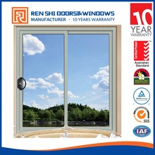 Hot sale fire rated glazed aluminum up down sliding window
