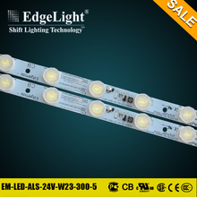 Edgelight aluminum high power ultra bright led stripe for side emitting advertising light box