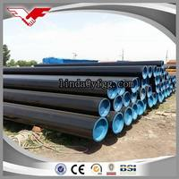 ASTM A106/ASTM A53/ API 5L Gr.B Black Seamless Welded Steel Pipe