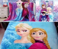 2015 New Design For Cartoon Printed Frozen Blanket